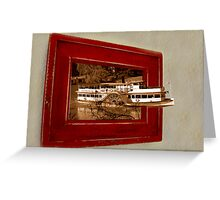 Paddleboat escape Greeting Card