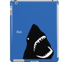 Creepy shark iEat iPhone parody iPad Case/Skin