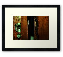 Entrance to Narnia Framed Print