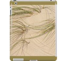 Traces in the Sand iPad Case/Skin