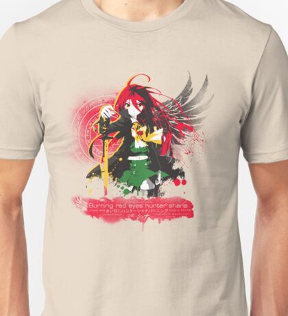 Burning Red Eyed Hunter Shana Unisex T-Shirt