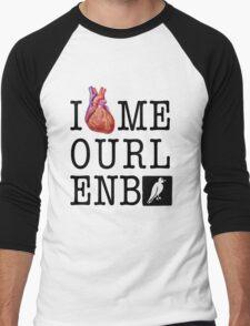 Heart Melbourne Men's Baseball ¾ T-Shirt