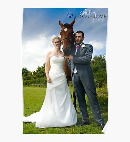 Equine Couple Poster