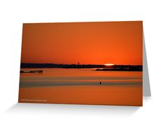 Sunrise Over Pattersquash Island | Smith Point, New York  Greeting Card