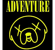Jake Adventure Time Face Photographic Print