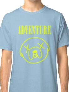 Jake Adventure Time Face Classic T-Shirt