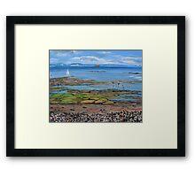 Bembridge Bay, Isle of White Framed Print