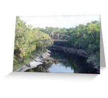 Ol' Suwannee River Greeting Card