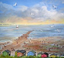 The Street, Tankerton, Whitstable by Juanita Newton