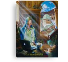The Virgin, oil on canvas, 2010. Canvas Print