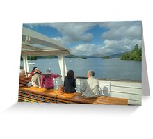 If it's Thursday,it must be Windermere... Greeting Card