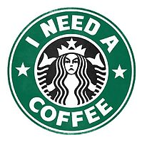 I need a coffee! by John Medbury (LAZY J Studios)