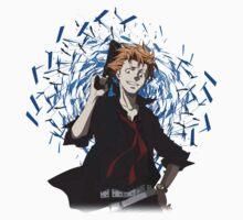 Kagari Shusei - Psycho-Pass One Piece - Short Sleeve