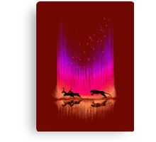 Give chase Canvas Print