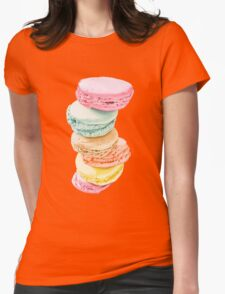 Macarons Womens Fitted T-Shirt