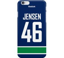 Vancouver Canucks Nicklas Jensen Jersey Back Phone Case iPhone Case/Skin