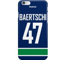 Vancouver Canucks Sven Bärtschi Jersey Back Phone Case iPhone Case/Skin