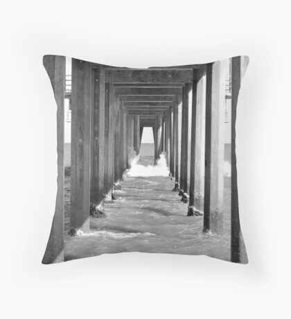 Jetty Bar Throw Pillow