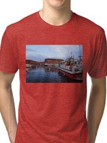 Red Naples Harbor - Vigili del Fuoco Tri-blend T-Shirt