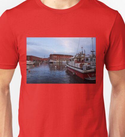 Red Naples Harbor - Vigili del Fuoco Unisex T-Shirt