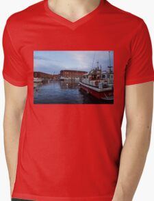Red Naples Harbor - Vigili del Fuoco Mens V-Neck T-Shirt