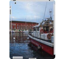 Red Naples Harbor - Vigili del Fuoco iPad Case/Skin