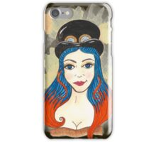 Blue and Orange Steampunk iPhone Case/Skin