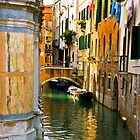 Canals of Venice by Sheila Laurens