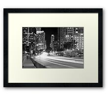 Ghost in the street  Framed Print