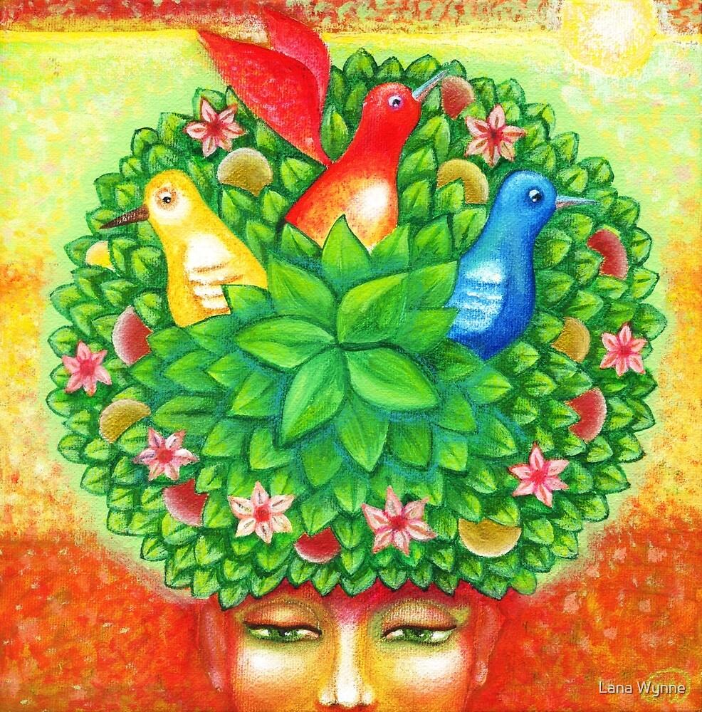 Like a tree. Psalm 1:3  by Lana Wynne