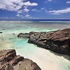 Black Rock - Rarotonga, the Cook Islands by darylbowen