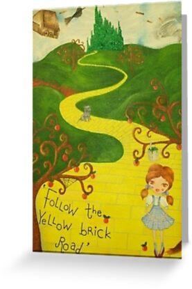 Far Over The Oz Rainbow  by fairywhisperart