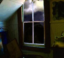 Garret in Moonlight by RC deWinter