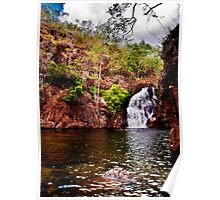 Litchfield National Park - At the base of Florence Falls Poster