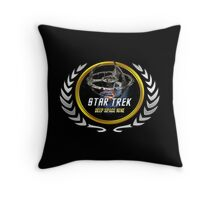 Star trek Federation of Planets Deep Space Nine Throw Pillow