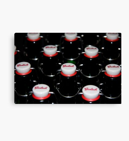 beer, beer we want more beer! Canvas Print