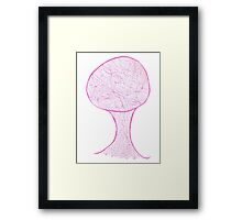 Tree of Life for Pink People Framed Print