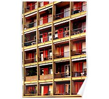 Apartments, Nice Poster