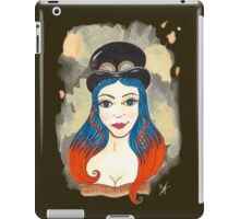 Blue and Orange Steampunk iPad Case/Skin