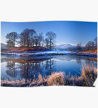 River Brathay Reflections. Poster
