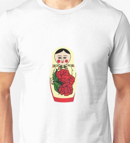 Russian matryoshka doll (yellow) Unisex T-Shirt