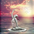 Welcome The Day (Greeting Card) by Tanja Udelhofen