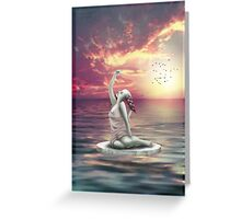 Welcome The Day (Greeting Card) Greeting Card