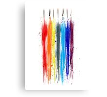 Paint abstract Canvas Print
