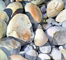 Rocks and Pebbles by Ann Mortimer
