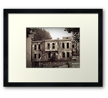 Once upon a time in Istanbul Framed Print