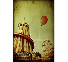 Lost Balloon Photographic Print