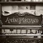 Fine Sale Antique Cash Register - Fine Art Photography Original Print by Erin Reynolds