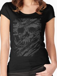Spine-chilling  Women's Fitted Scoop T-Shirt