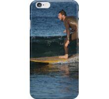 Sliding Over the Glassy Brine iPhone Case/Skin